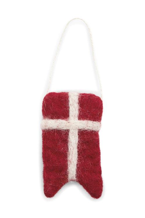 Danish Flag Ornament (MIN 6)