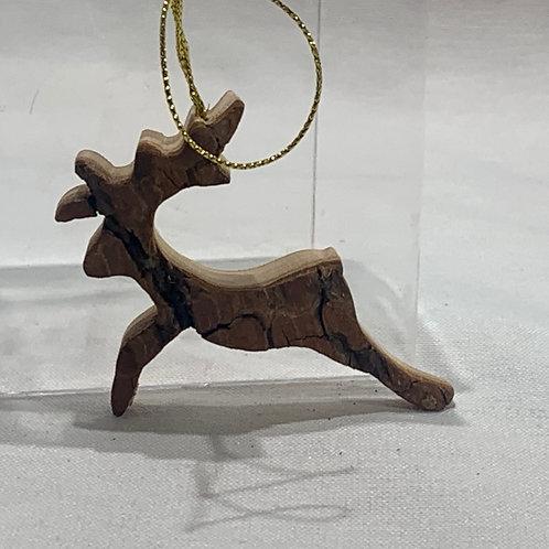 Jumping Reindeer Ornament