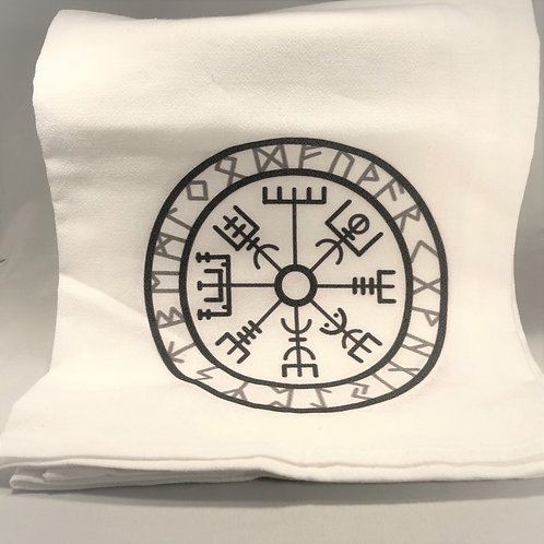 Nordic Rune Tea Towel
