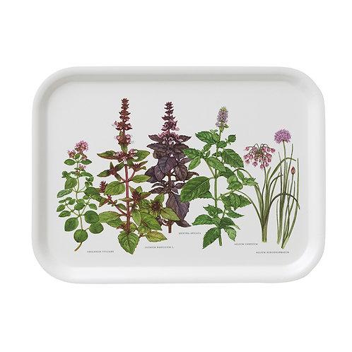 Herbs Rectangular Serving Tray