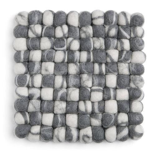Grey Square Stone Ball Trivet (MIN 4)