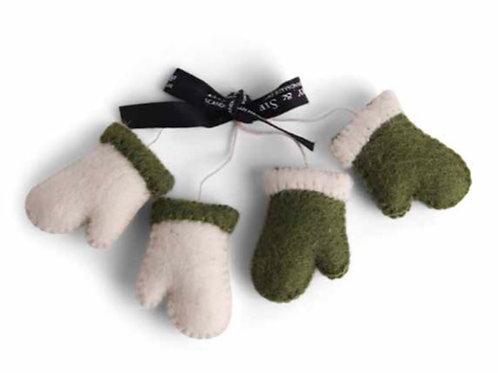 Green Gloves Ornament, Set of 2 (MIN 6)