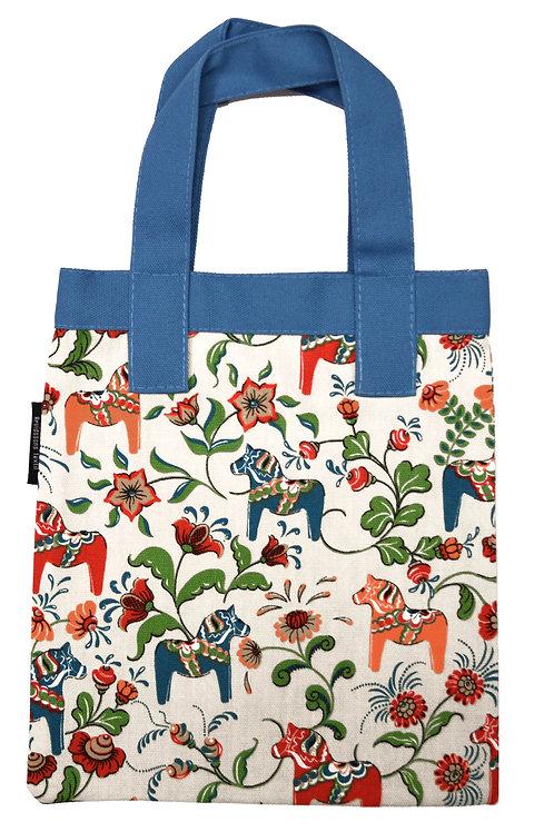 Beige Mini Dala Horse Child's Tote Bag