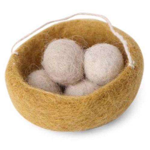 Ochre Nest Ornament (MIN 8)