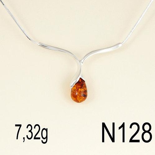 Single Teardrop Necklace