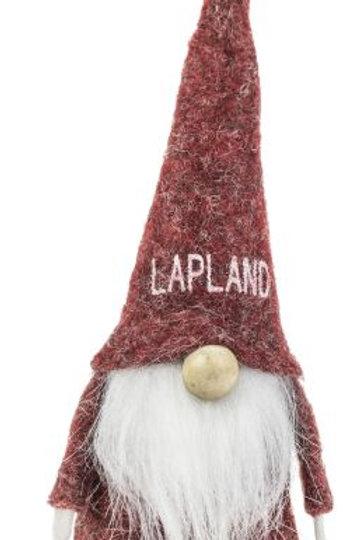 Lapland Red Santa w/White Beard
