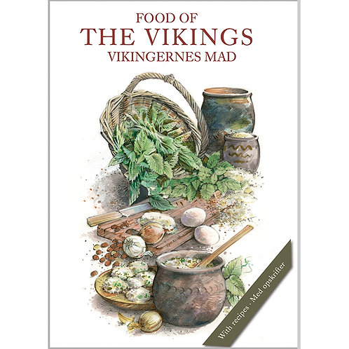 Food of the Vikings Card Folder w/8 Note Cards