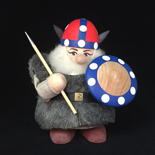 Large Viking w/Fur Cloak & Norway Helmet