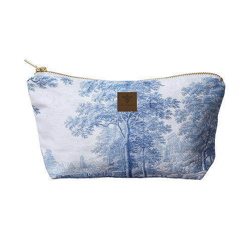 Gusseted Landscape Cosmetic Bag