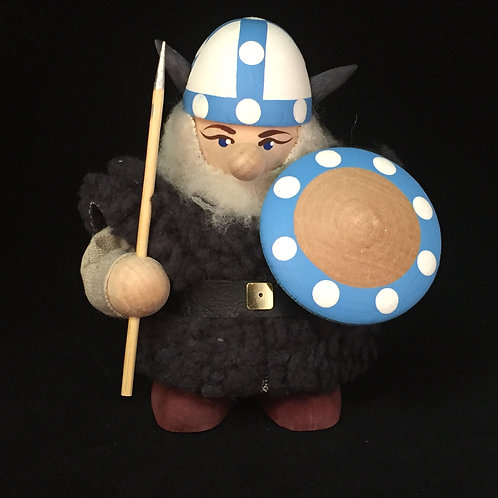 Large Viking w/Fur Cloak & Finland Helmet