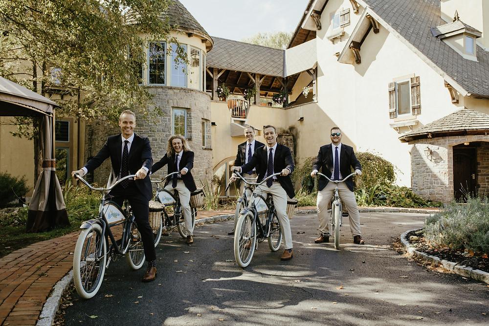 Mirbeau Inn & Spa, photo by Erin Northcutt Photography; fall wedding