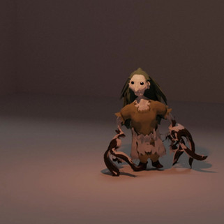 Charcter Design, Animation And Rigging