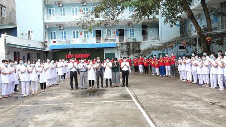 ICOベトナム、コロナ医療チームを全面サポート!!