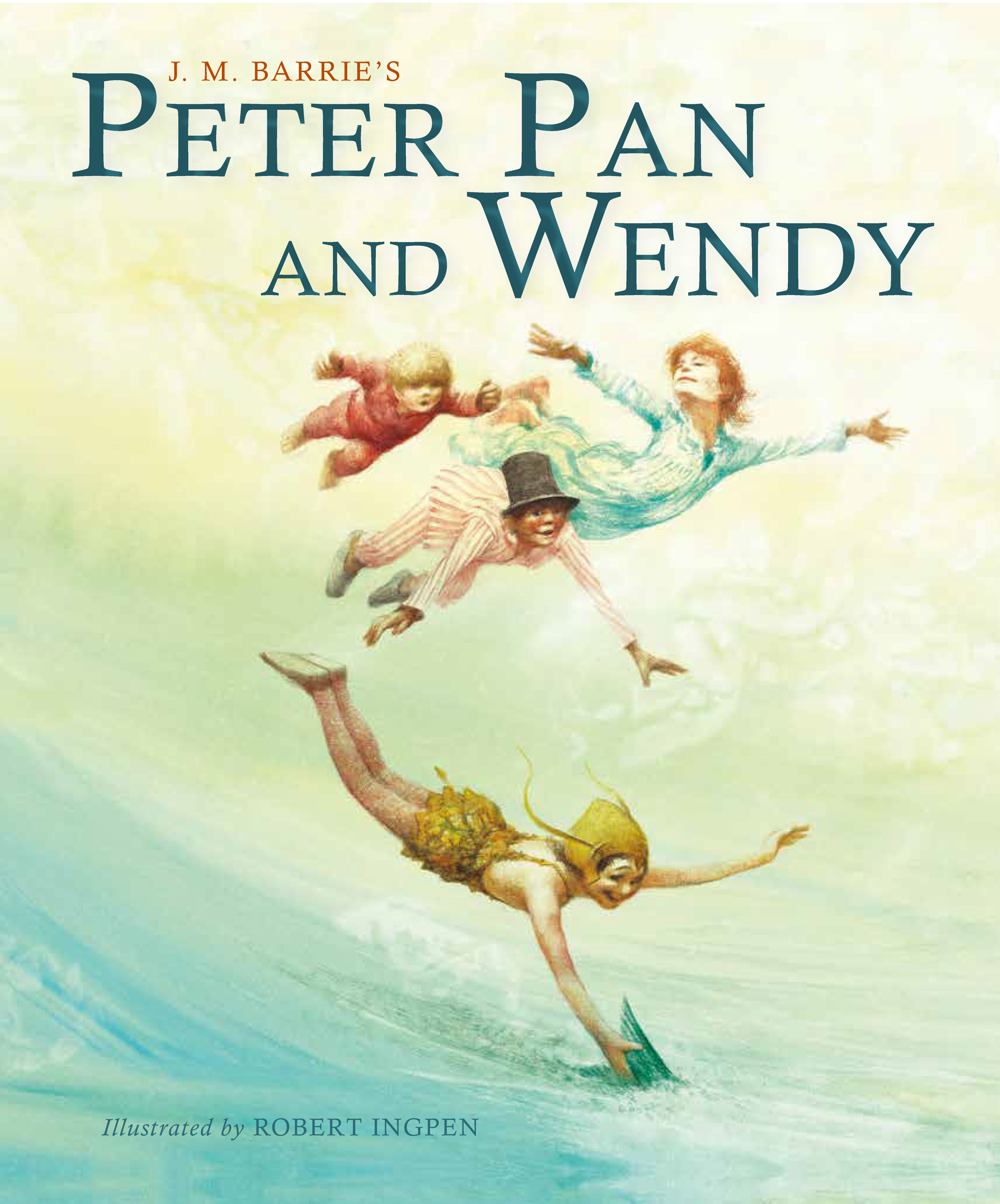 Peter Pan and Wendy Picture Hardback