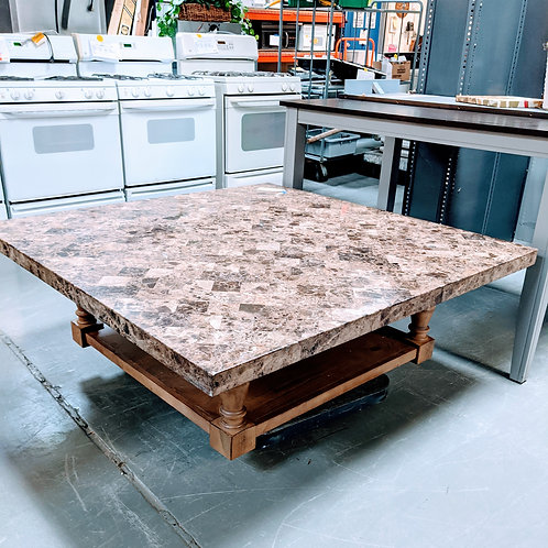 M6 - Marble Top Coffee Table