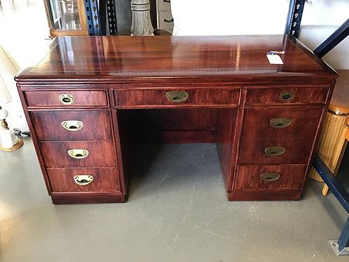 M148 Used Reddish Wood Desk
