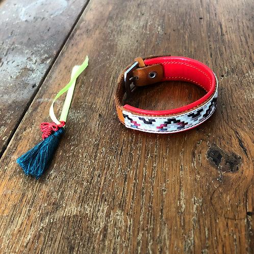 Bracelet cuir ethnique