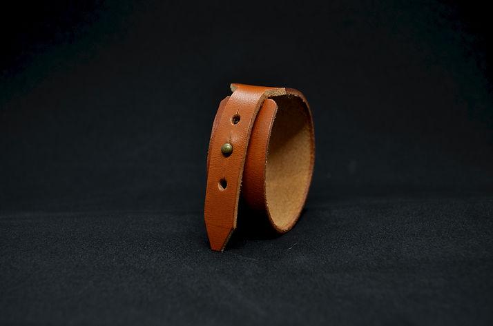 Manchette cuir
