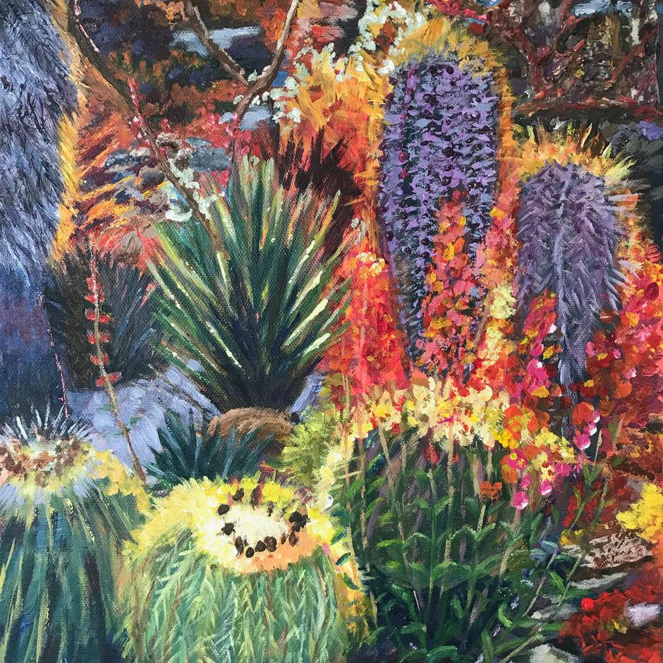 The Cactus Garden, Ann Henson