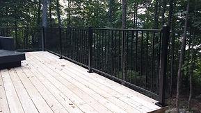 rampe fer forgé, rampe fer ornemental, rampe aluminium, cloture protech