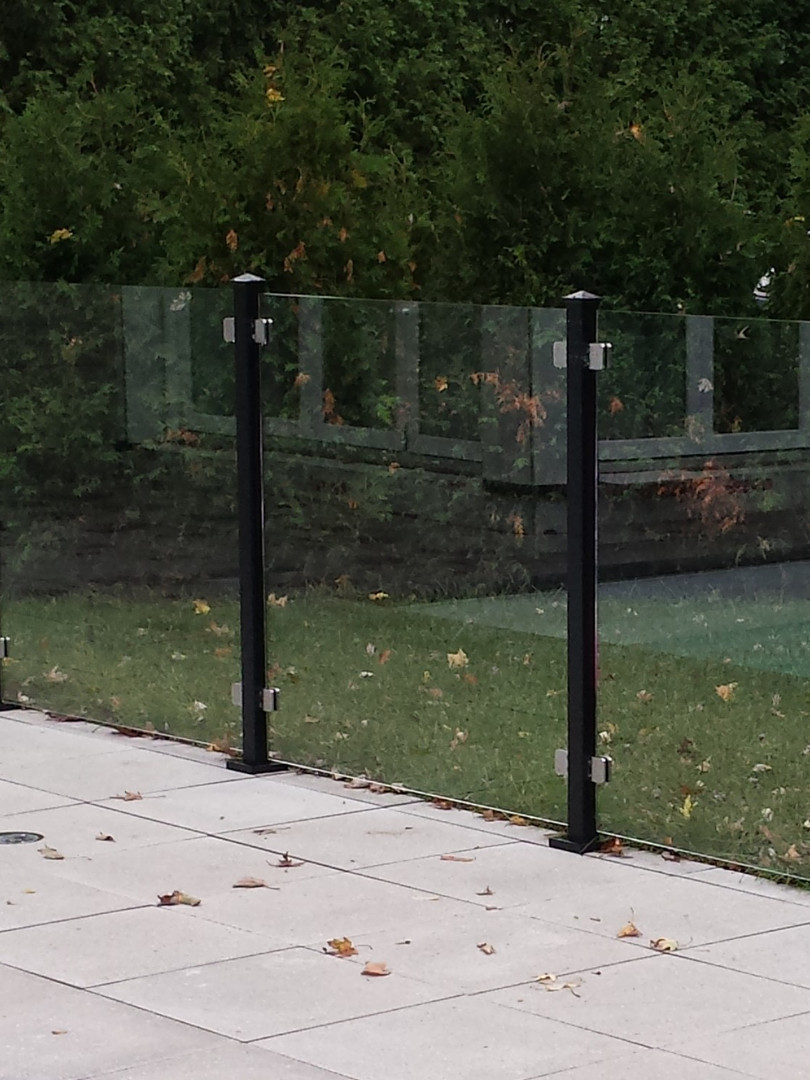 Cloture de verre