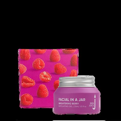 Facial in a Jar - Brightening Berry Exfoliating Gel