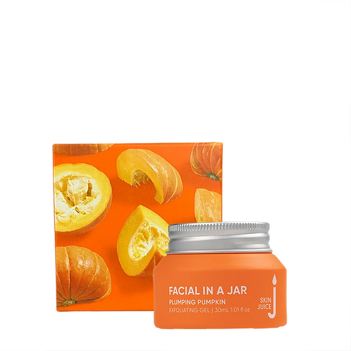 Facial in a Jar - Plumping Pumpkin Exfoliating Gel
