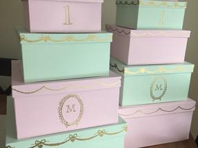 Macaron 1st Birthday Decorations