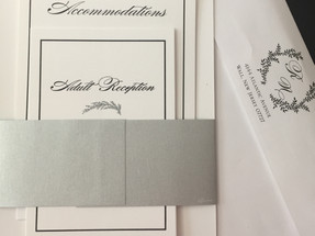 Two Color Thermography Invitation