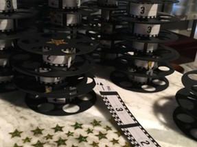 Movie Reel Invitation Assembly
