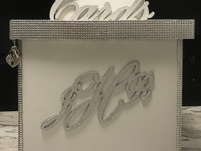 Tiered Wedding Card Box