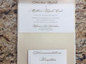 Vertical Pocket Invitation