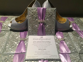 Lace Pocket Invitation