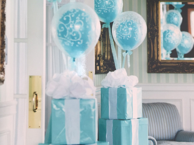 Balloons and Present Decorations