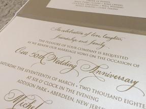 Anniversary Party Invitations