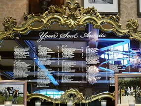 Ornate Mirror Seating Chart