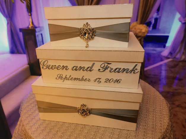 Personalized Card Box