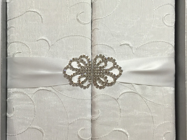 Invitation with Brooch
