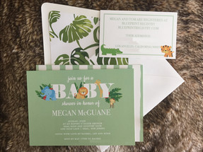 Jungle Baby Shower Suite