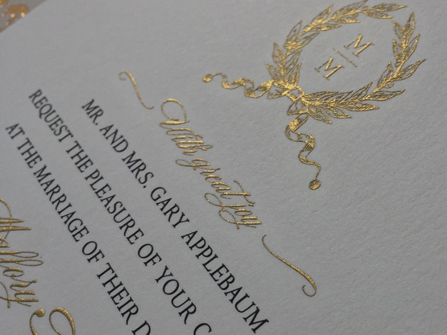 Engraved Invitation
