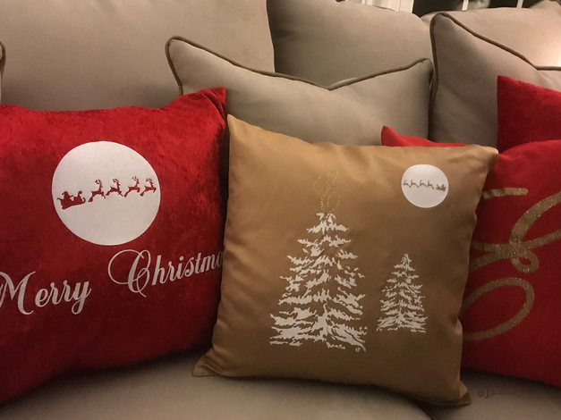 Custom Pillows for Christmas Party