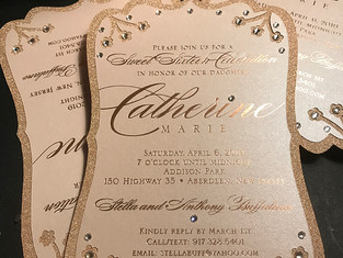 Sweet Sixteen and Quinceañera Invitations