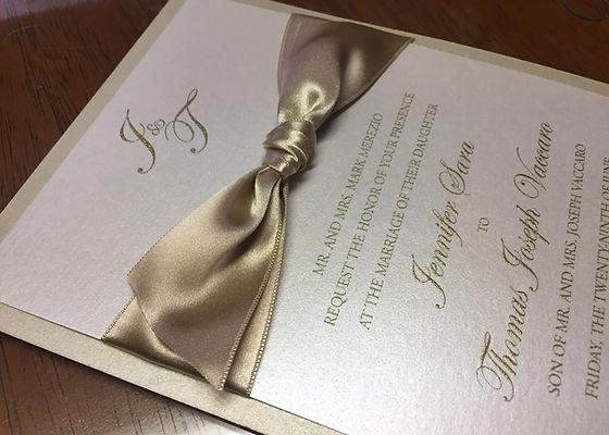 Jessica and Austen invitation suite