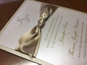 Layered Wedding Invitation