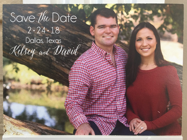 Photo Save the Date