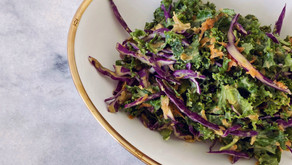 Holy Kale With Herbed Tahini Dressing
