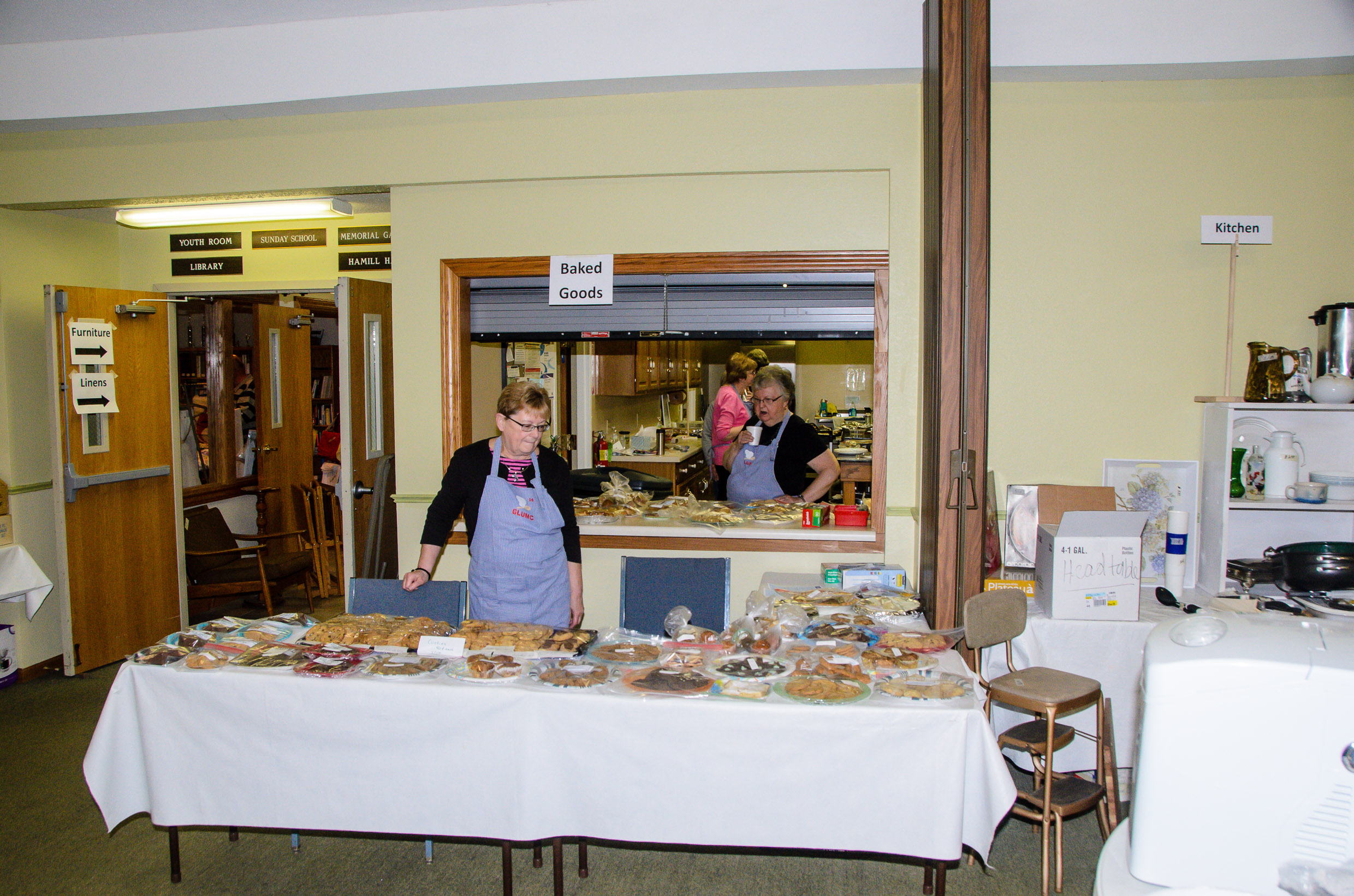 Annual Rummage & Bake Sale