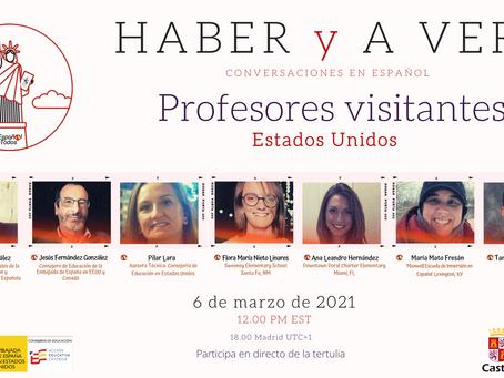 HABER y A VER. Profesores visitantes en Estados Unidos