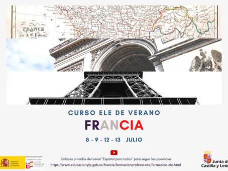 II Curso ELE de verano en línea. FRANCIA