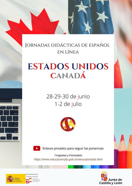 Jornadas Didácticas de Español en Estados Unidos y Canadá